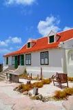 Landhouse em Curaçau foto de stock