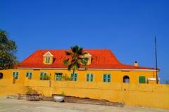 Landhouse en le Curaçao photo stock