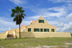 Landhuis Cas Abou Dutch Caribbean. Ancient landhouse located in the Dutch Caribbean on the Island Curacao Stock Images
