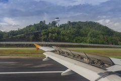 landing Royalty-vrije Stock Foto