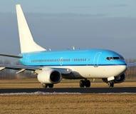 Landing aircraft Royalty Free Stock Photos