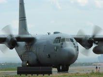Landing Aircraft Stock Image