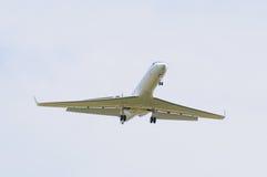 Landing airplane Royalty Free Stock Photo