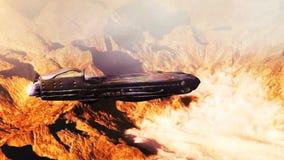 Landing on alien ice planet