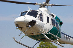Landing Bell 412 SP Royalty Free Stock Image