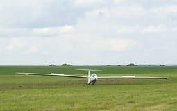 Landing  Doubleseater DG1000 - airshow Poprad Stock Photos