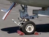 Landing Gear. Of a US Navy E2C aircraft stock photos