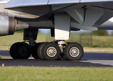 Landing gear. MD-11 Landing gear Stock Images