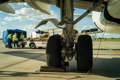 Landing gear Stock Photos