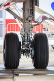 Landing gear Stock Photo