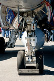 Landing gear. Stock Image