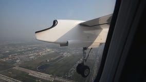Landing gear down stock video footage