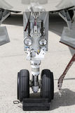 Landing Gear of Jet Airplane Stock Image
