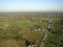 Landing a glider stock photos