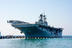 Landing Helicopter Dock, Turkish Assault ship Stock Photo