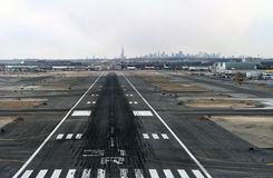 Landing at JFK Royalty Free Stock Image