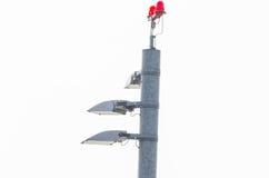 Landing lights Airport Royalty Free Stock Image