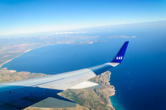 Landing Mallorca Royalty Free Stock Photo