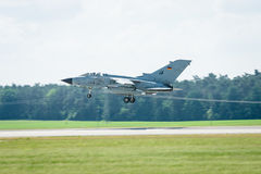 Landing multirole aircraft, Panavia Tornado. Stock Photography