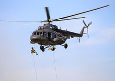 Landing operation Stock Photos