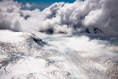 Landing on the peak - New Zealand Royalty Free Stock Photo