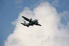 Landing plane Royalty Free Stock Images