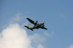 Landing plane Stock Images