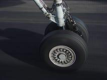 Landing plane Stock Photography