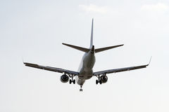 Landing Plane Stock Photography