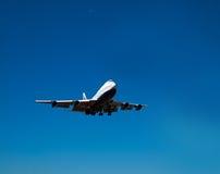 Landing plane Royalty Free Stock Image