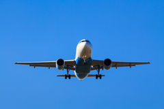 Landing plane Royalty Free Stock Photos
