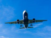 Landing Plane Royalty Free Stock Photos