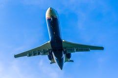 Landing Plane Royalty Free Stock Photography