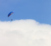 Landing on a sea of clouds Royalty Free Stock Images