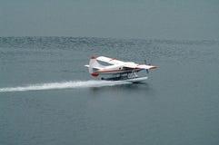 Landing Seaplane Royalty Free Stock Photo