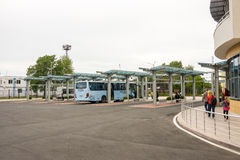The landing site at the southern bus terminal in Burgas Bulgaria Stock Photography