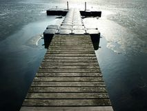 Landing stage Royalty Free Stock Images