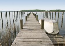 Landing stage Stock Image