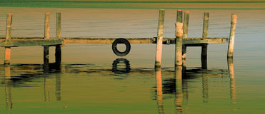 The landing stage. Stock Photo