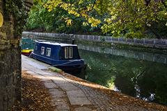 Landing-stage in Regent canal. London. UK Stock Photos