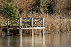 Landing stage Royalty Free Stock Photography