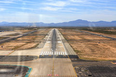Landing in Tucson Royalty Free Stock Photo