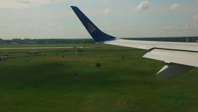 Landing stock footage