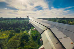Landing. Stock Photo