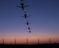 Landingsbaan Stock Afbeeldingen