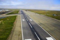 Landingsbaan royalty-vrije stock foto's