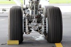 Landingsgestel stock foto