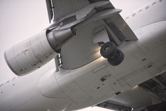 Landingsgestel stock afbeeldingen