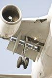 Landingsgestel/Vliegtuig stock afbeeldingen