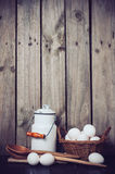 Landküche Stillleben Stockfotografie